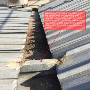 Box Gutter Leaks on Commercial Buildings | Expansion Joint Problems | Roofrite | Melbourne
