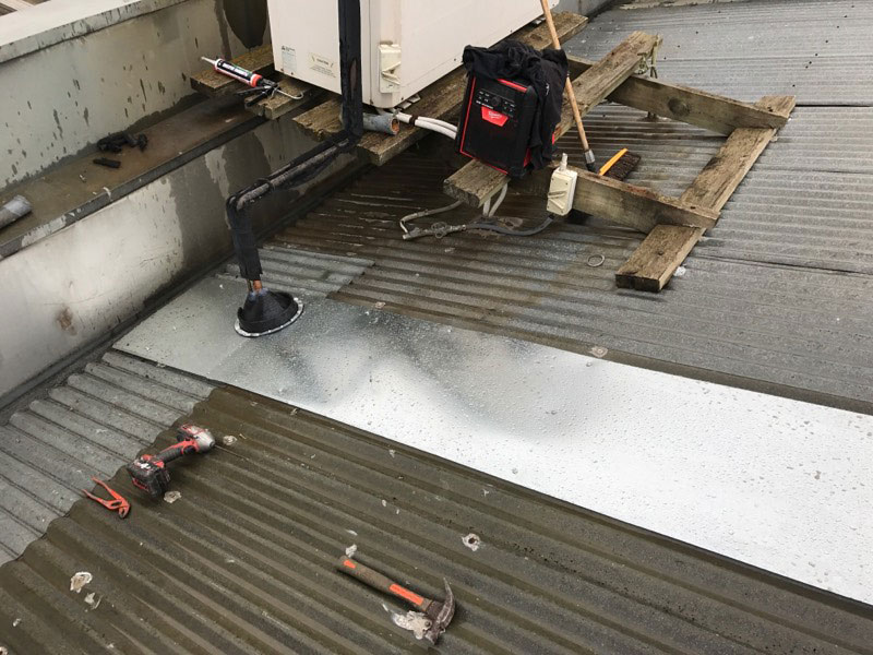 Roof Leaks on Commercial Buildings | Apron Flashing with New Dektite | Melbourne | Roofrite Commercial